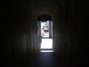 passage to inner temple