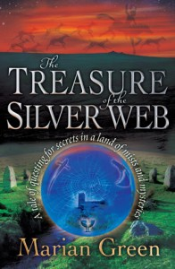 Cover photo of the novel Treasure of the Silver Web