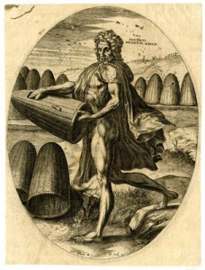 Aristaeus, inventor of honey making and cheese 1