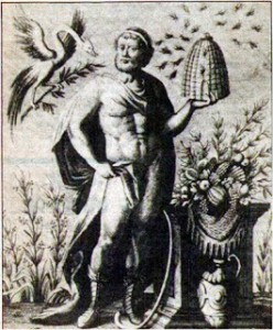 Aristaeus, inventor of honey making and cheese 2