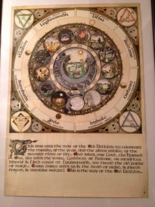 De maankalender van Silver Circle