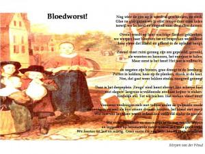 Gedicht met achtergrond-illustratie