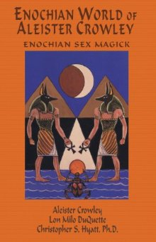 Cover of Enochian world of Aleister Crowley