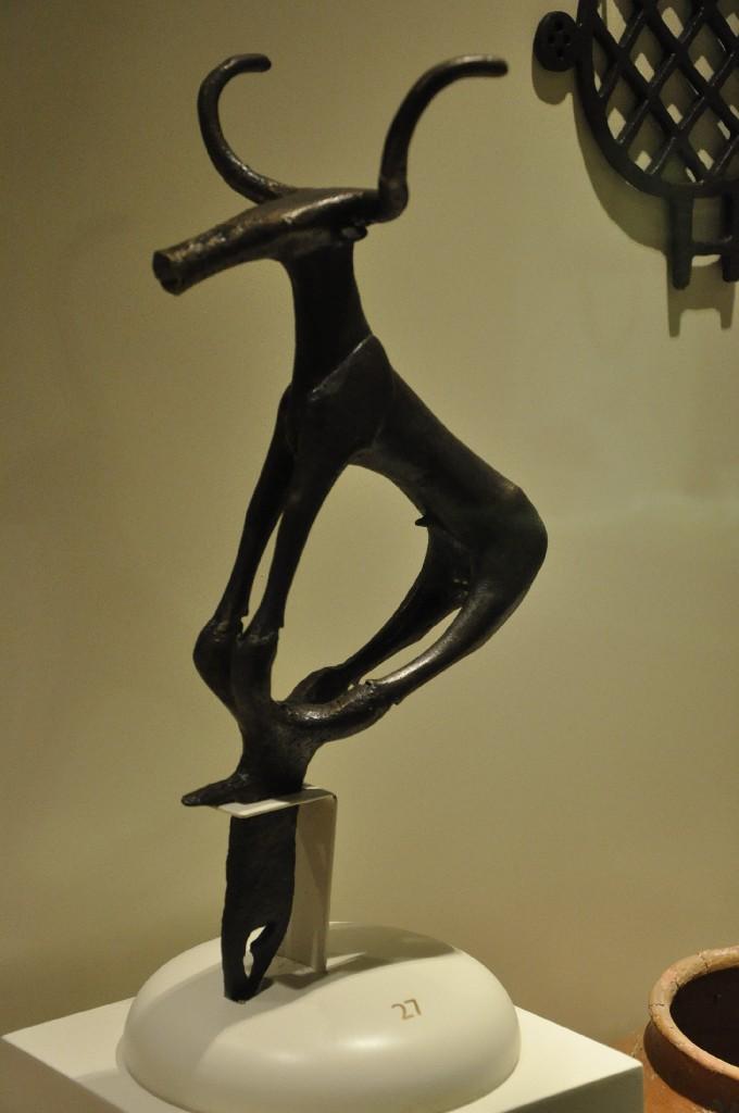 Bull statuette