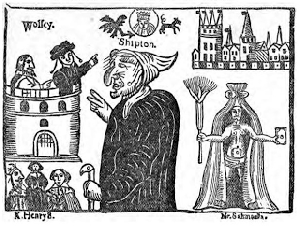 Mother Shipton and Cardinal Wolsey