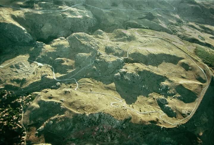 Hattusa -aerial view