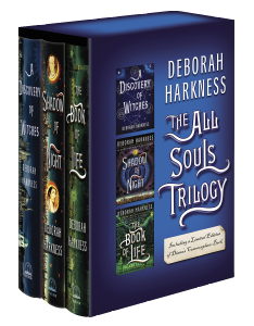Covers of the All Souls Trilogy