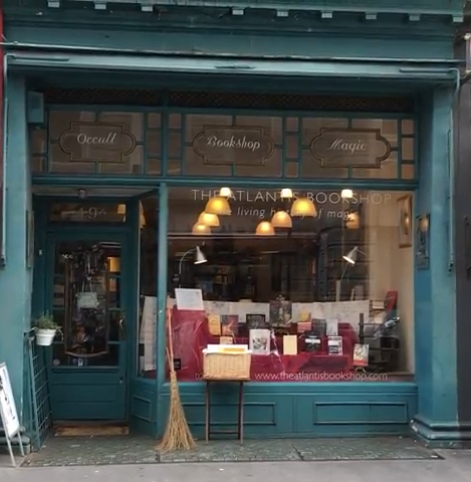 (The Atlantis Bookshop, Museum Street, London)