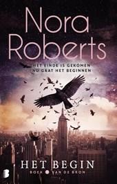 voorkant 'Het begin' van Nora Roberts
