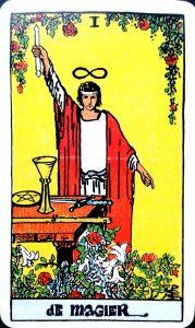 Tarotkaart De Magiër